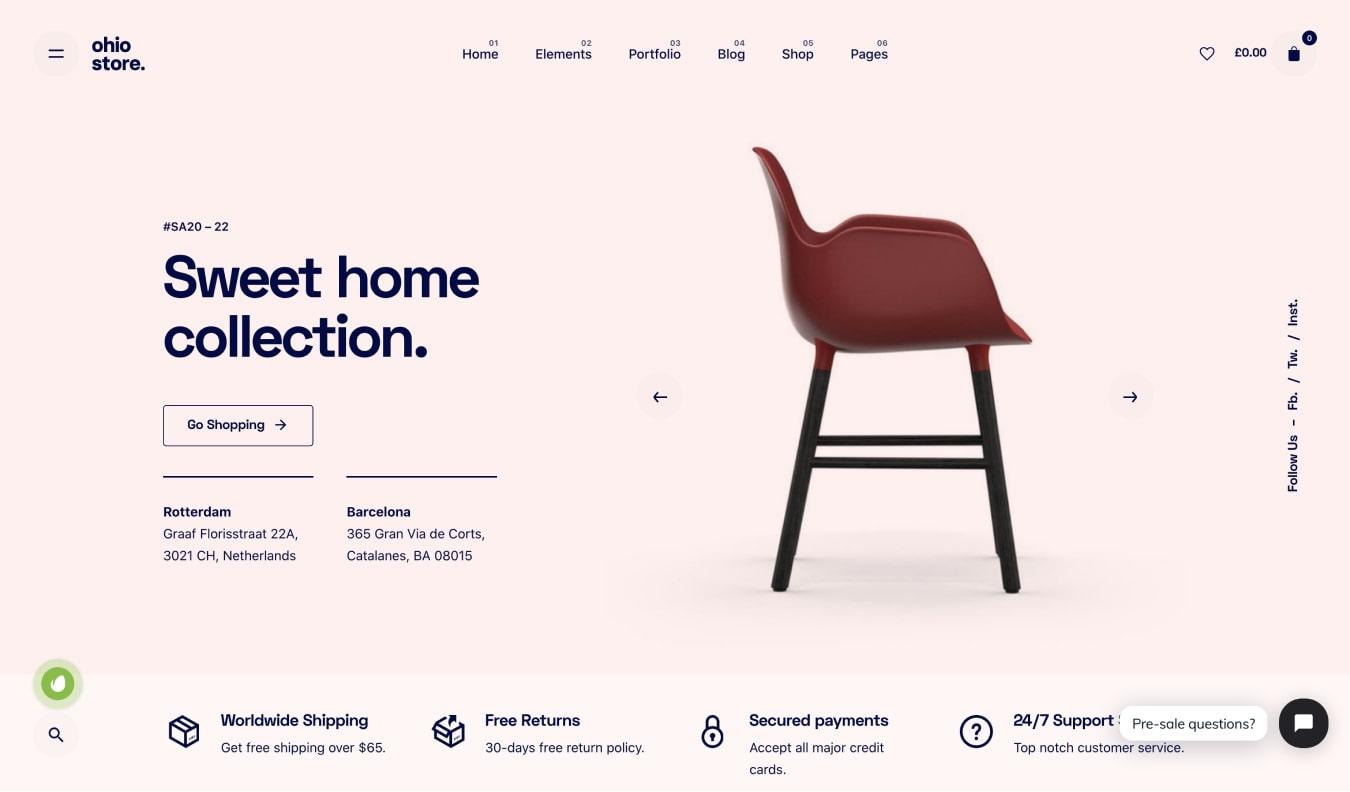 Ohio Creative Agency and WooCommerce Theme
