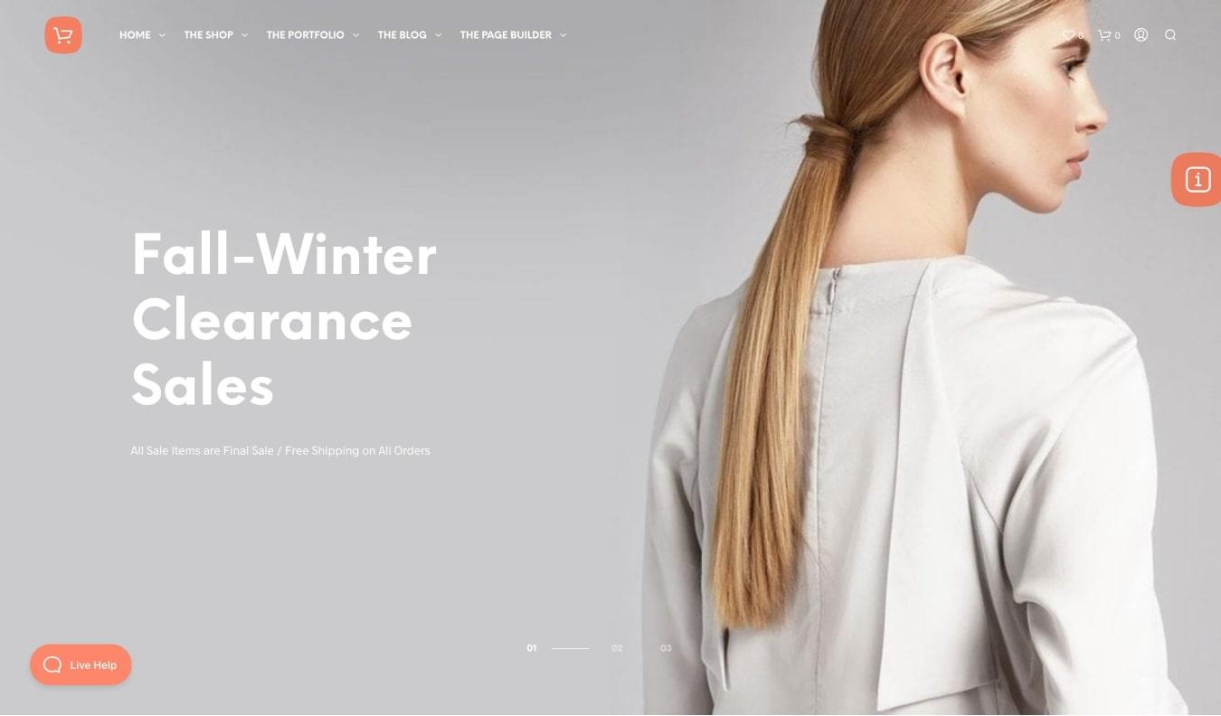 ShopKeeper eCommerce WordPress Theme