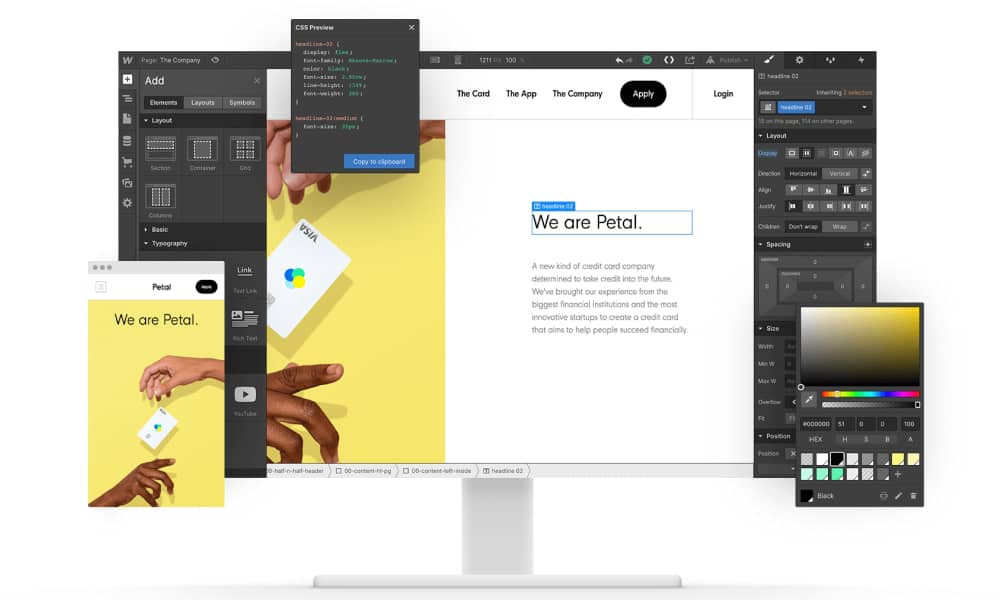 Webflow - Build modern websites (1)