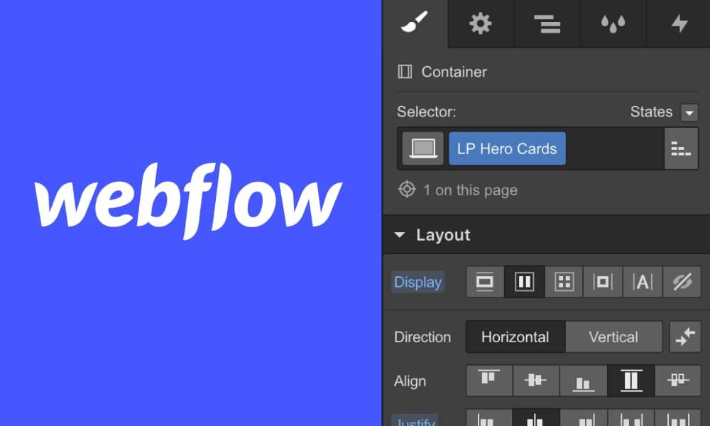 Webflow Design Editor offers flexibility to design websites