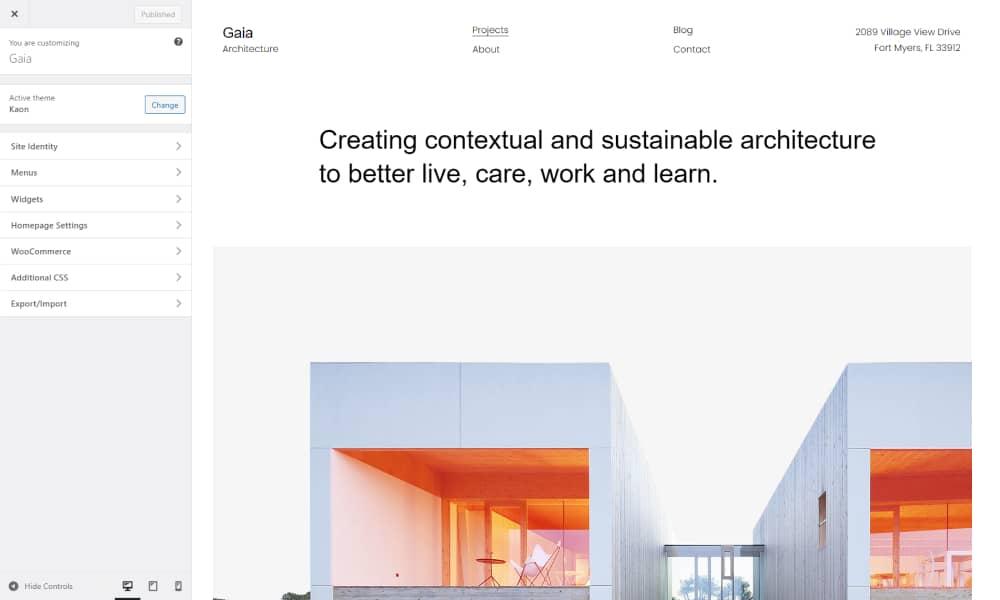 Design and build websites with WordPress