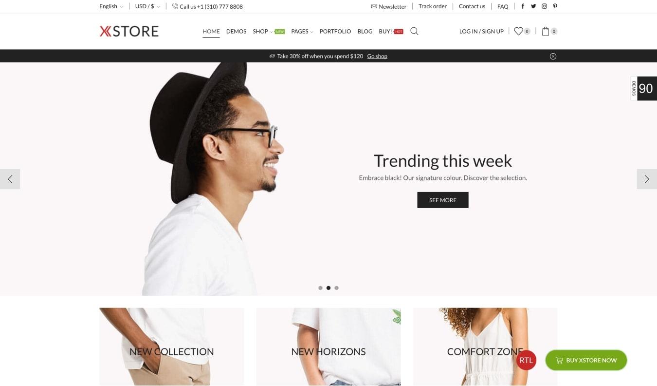 XStore Responsive WooCommerce Theme