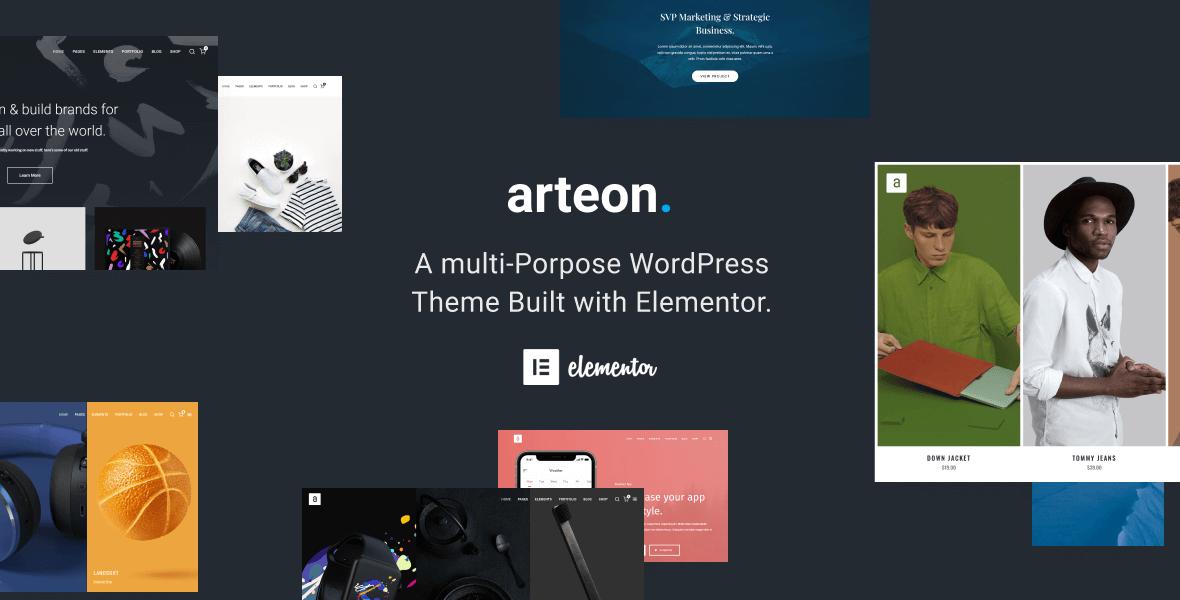 theme arteon preview