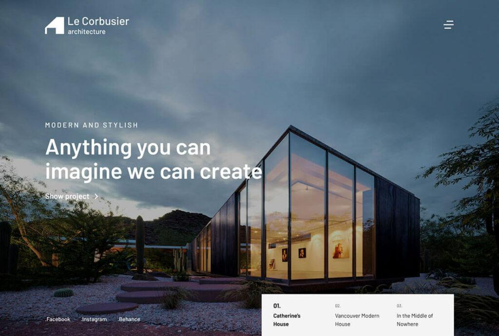 theme kaon le corbusier preview