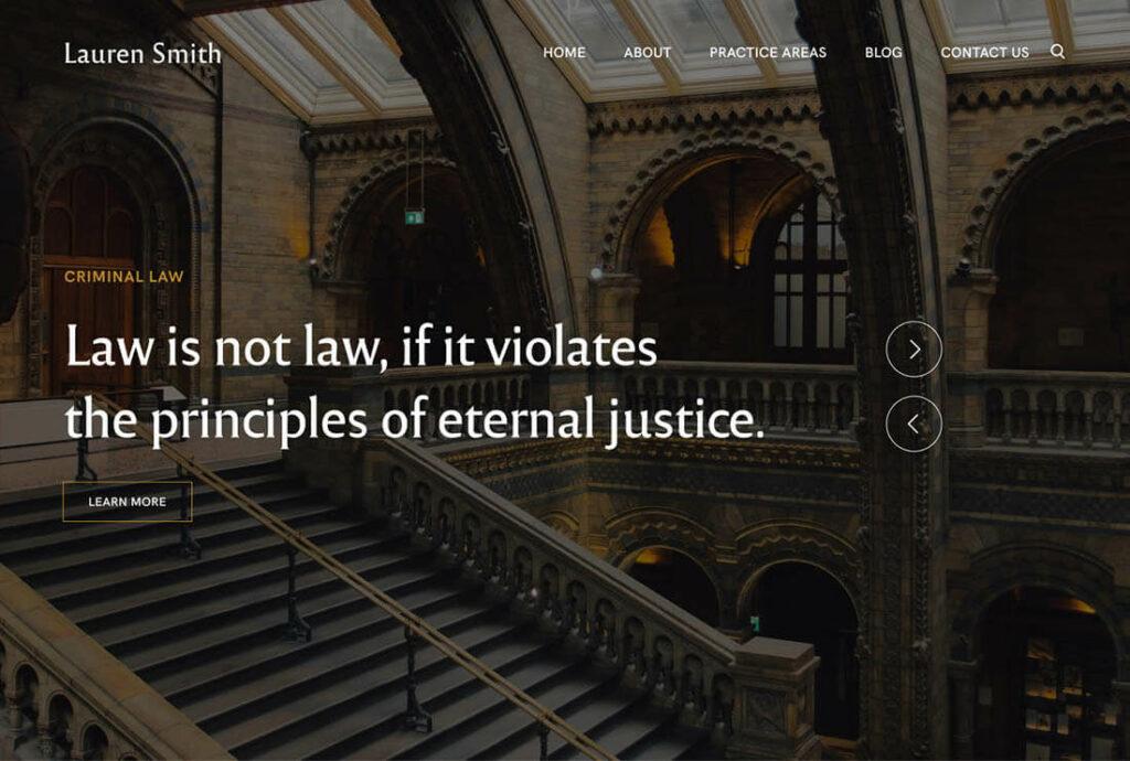 theme kaon preview Lawyer