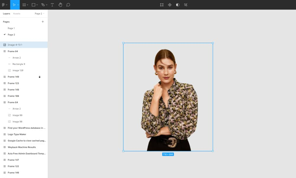 Design and edit backgrounds in Figma