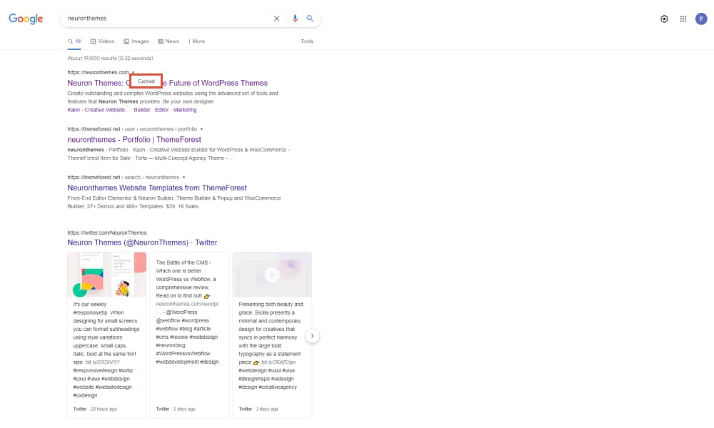 How to use Google Cache to view cached websites