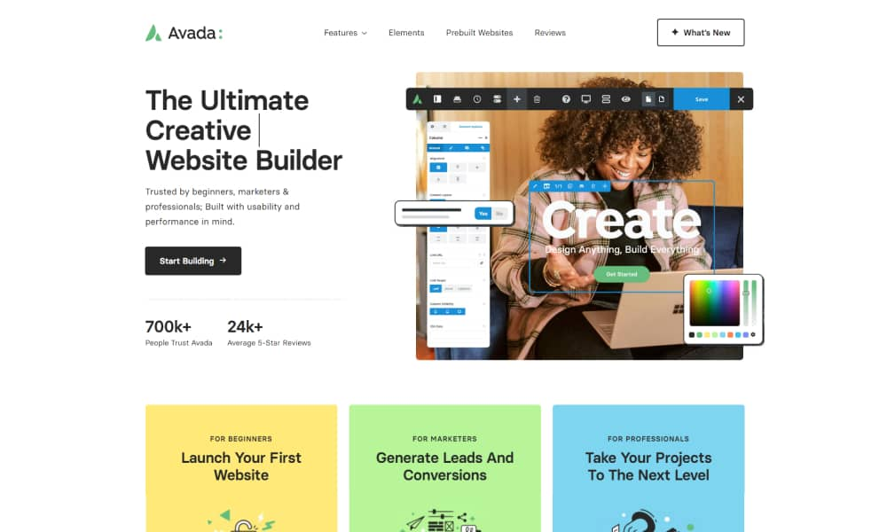 Avada Website Builder - The Fastest WordPress themes for 2021