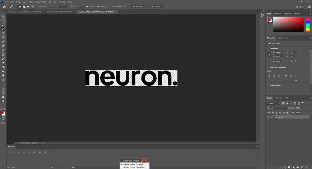 Create Frame Format