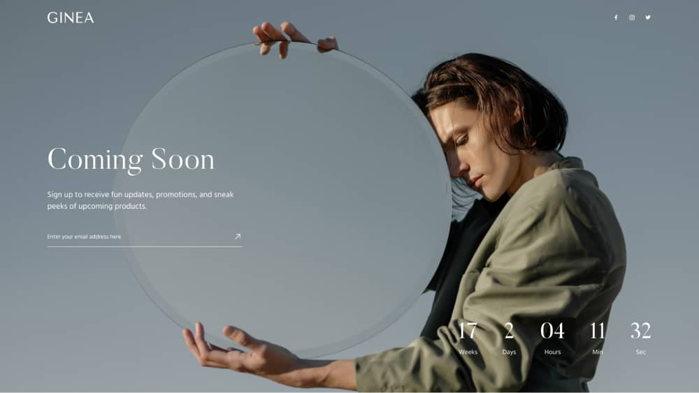 Create a Coming Soon Page in Elementor