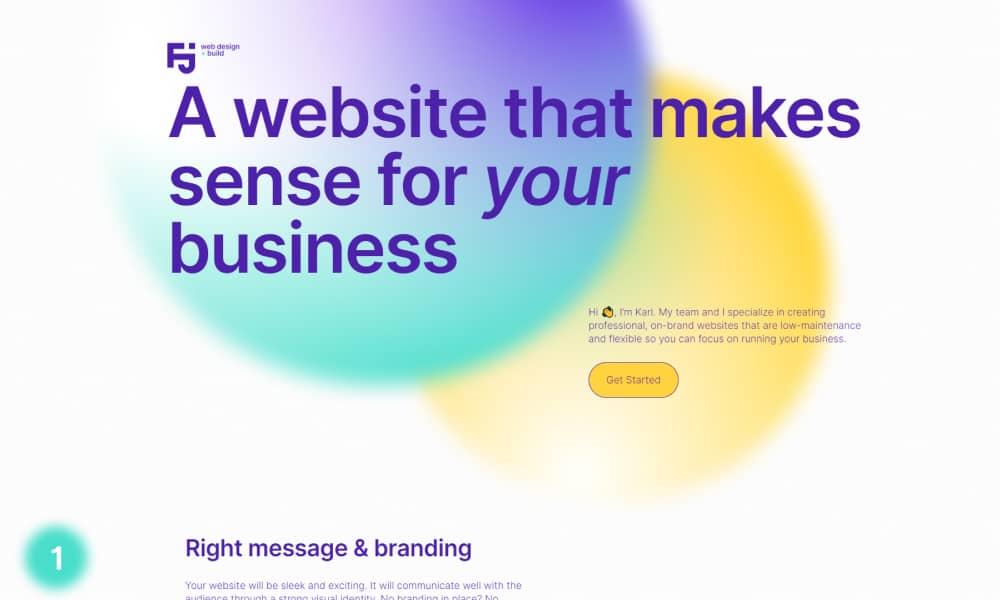 Best Beautiful Gradient Websites in 2021