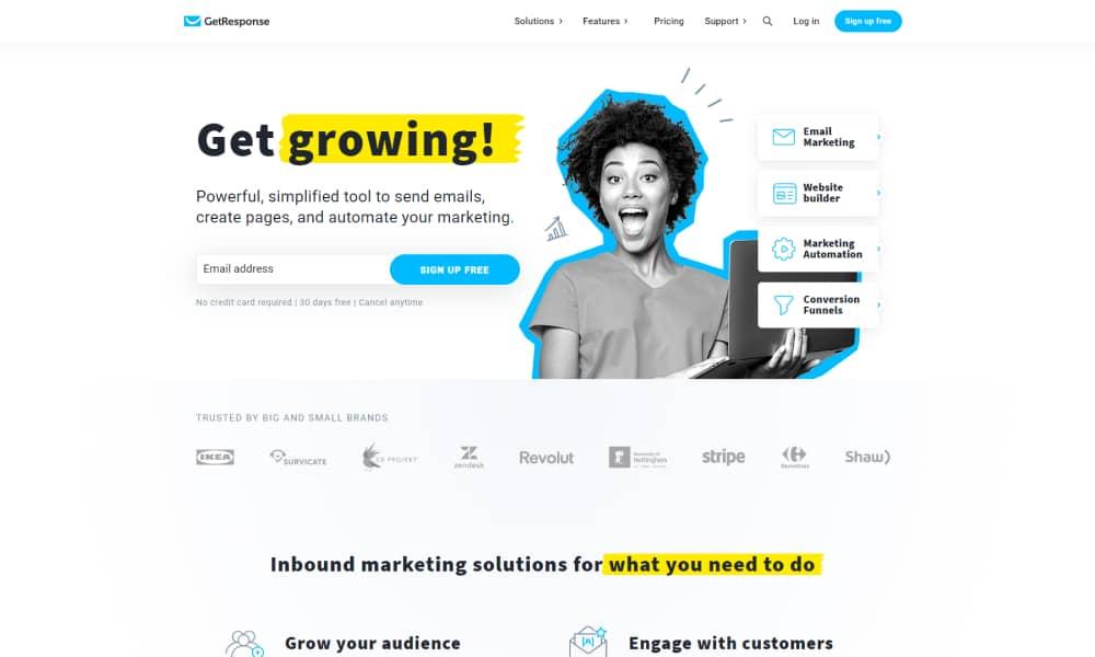 GetResponse - Marketing Platform