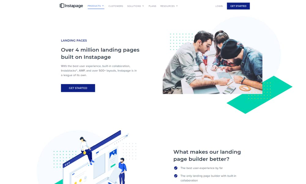 Instapages - Robust Landing Page Software