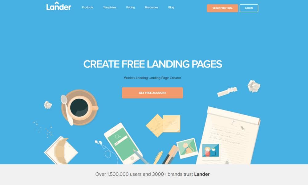 Lander - Landing Page Software Tool