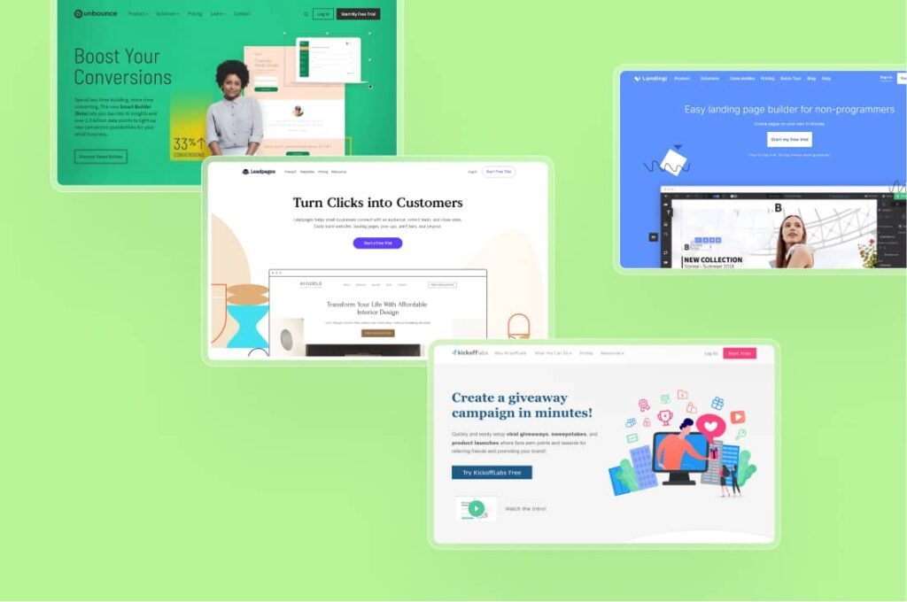 The Best Landing Page Builder Software Tools for 2021
