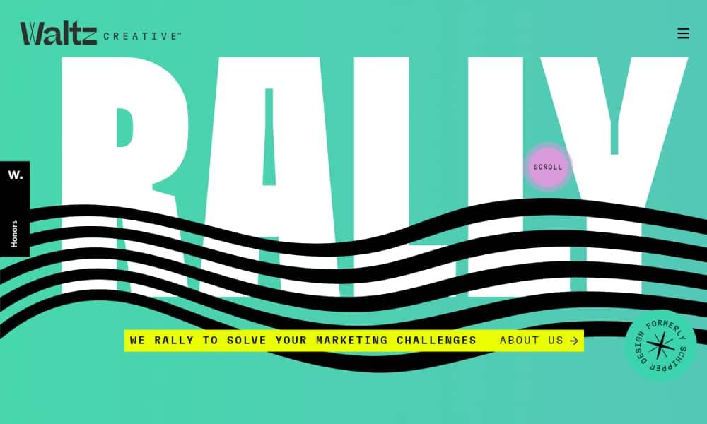 Waltz Creative - Gradient Website