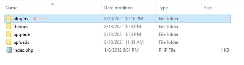 find the plugins folder