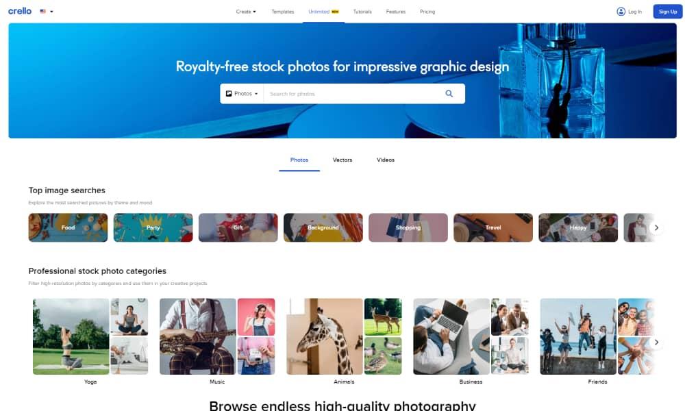 Crello - Free Stock Images